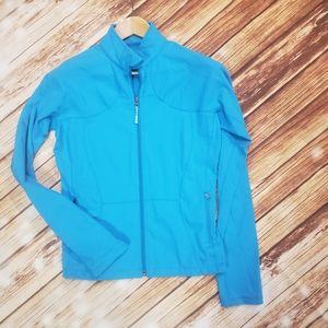 Lululemon Blue Zip Active Jacket Luon 8/10 Yoga